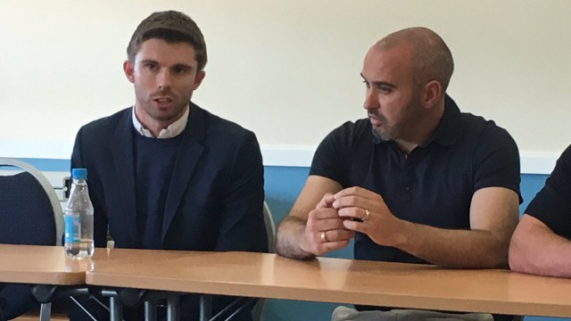 Management duo to leave Bangor City Football Club