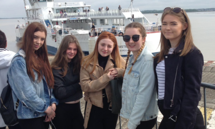 Coleg Menai's Travel & Tourism Students French Connection