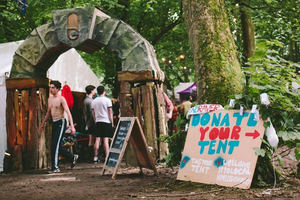 Gottwood Festival-goers donate tents & sleeping bags to help Bangor homeless
