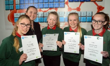 Ysgol Tryfan pupils win prizes at Festival of Chemistry