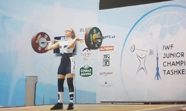 Catrin Jones finishes 4th at Junior World Weightlifting Championships