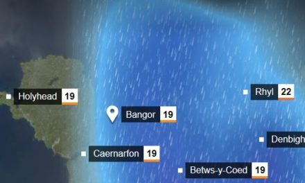 Rain and wind forecast for North Wales this weekend