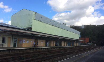 Restoration work at Bangor Railway Station progressing well