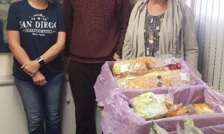 Bangor food share scheme helps combat 'holiday hunger'