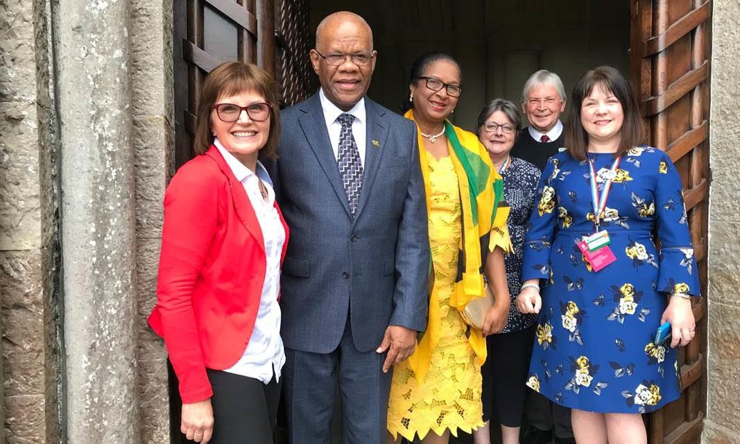 Jamaican High Commissioner makes historic visit to Bangor