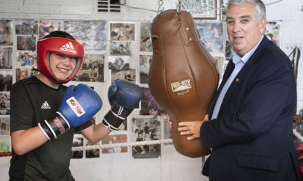 Police boss urges local businesses to help Bangor boxing club