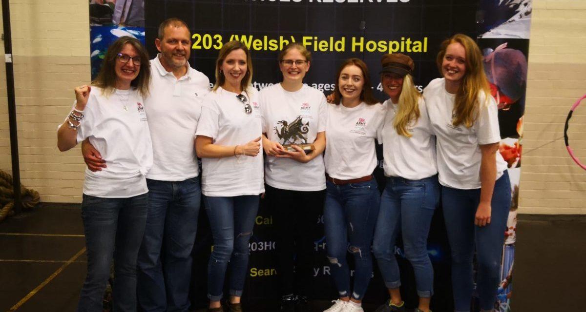 Ysbyty Gwynedd Team emerge victorious after taking on army challenge