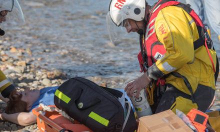 Emergency services improve their life-saving skills