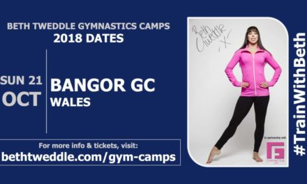 Beth Tweddle Gymnastics Camp to be held in Bangor