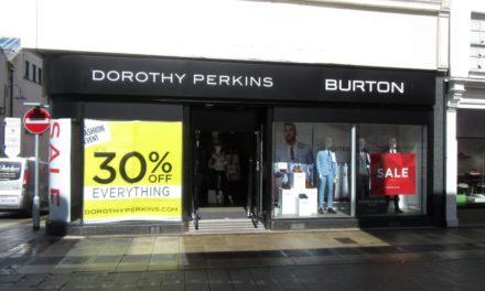 Dorothy Perkins & Burton on Bangor High Street set to close