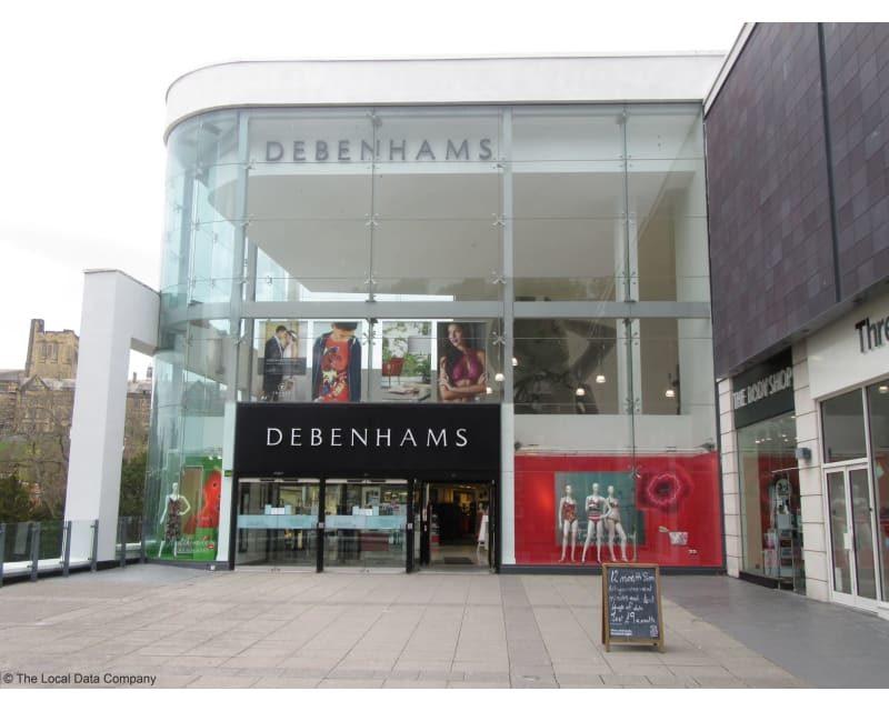Debenhams to close 50 stores after £500m loss