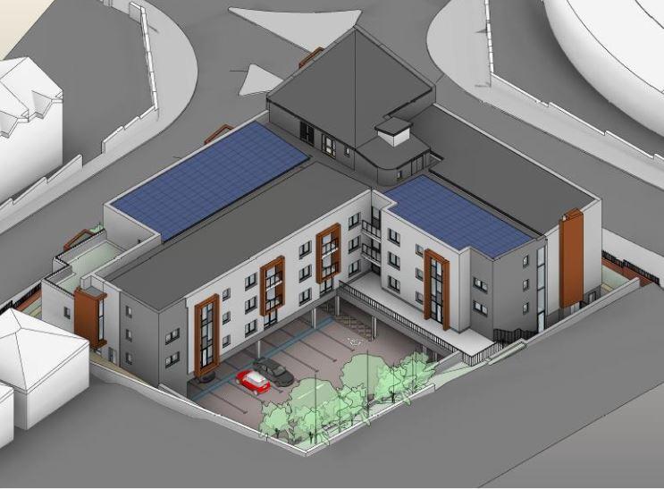 38 flats planned for former Bangor City Social Club site