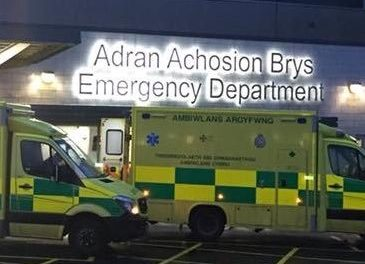 BCUHB appeal to help ease pressure on Ysbyty Gwynedd Emergency Department