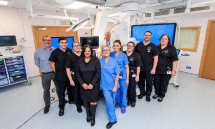 New radiology suites unveiled at Ysbyty Gwynedd & Glan Clwyd
