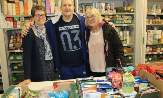 Abbey Road Centre offer mental health outreach support at foodbank
