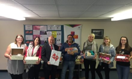 MP Supports Bangor Nurses 'Presents for Patients' Initiative