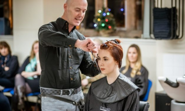 Award-winning hairdressing company joins forces with Coleg Menai