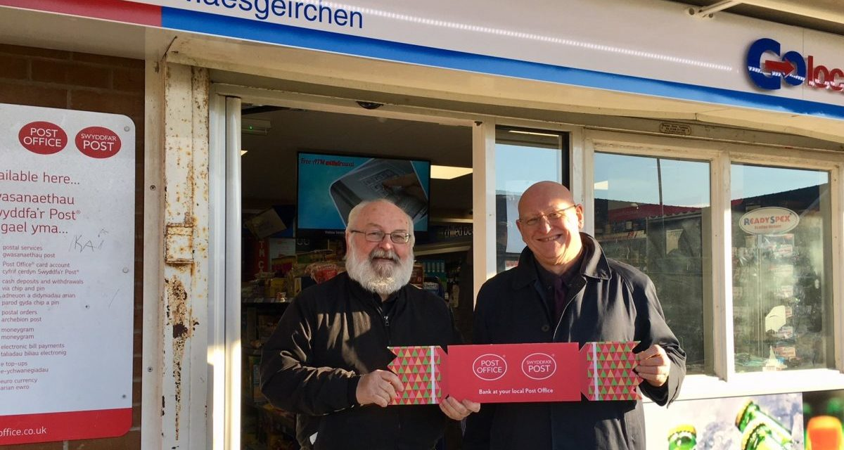 MP Thanks Bangor Post Office for First Class Service