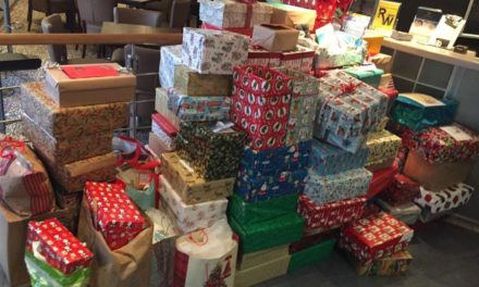 Over 100 shoeboxes donated to local homeless appeal