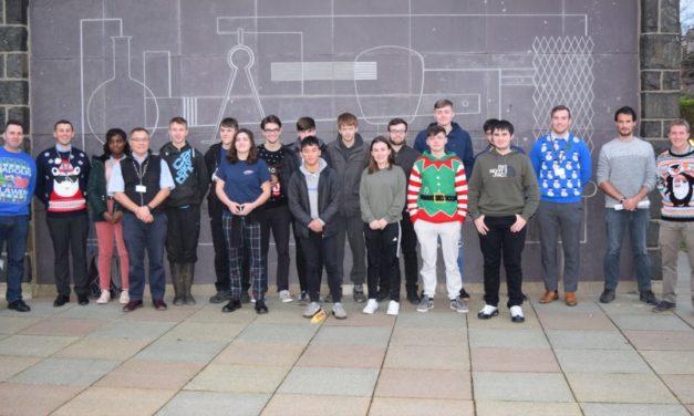 Competition success in last days of Engineering at Coleg Menai Bangor
