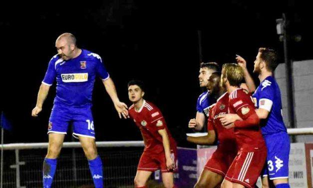 Match Report: Bangor City 5 – 0 Denbigh Town