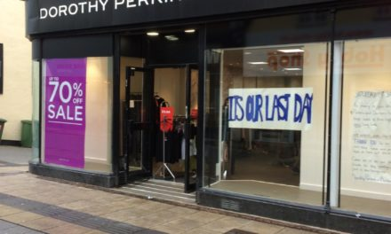 Dorothy Perkins and Burton close on Bangor High Street