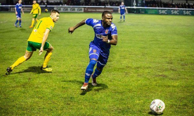 Match Report: Bangor City 1-2 Caernarfon Town Welsh Cup 4th Round