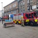Electrical fault 'sparks' panic on Bangor High Street