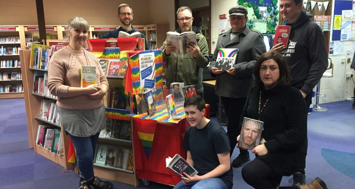 Bangor Library launch LGBT sections