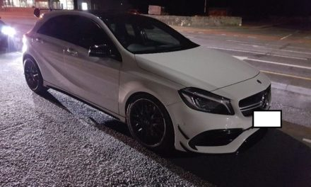 Speeding Bangor Mercedes seized twice in 24hrs
