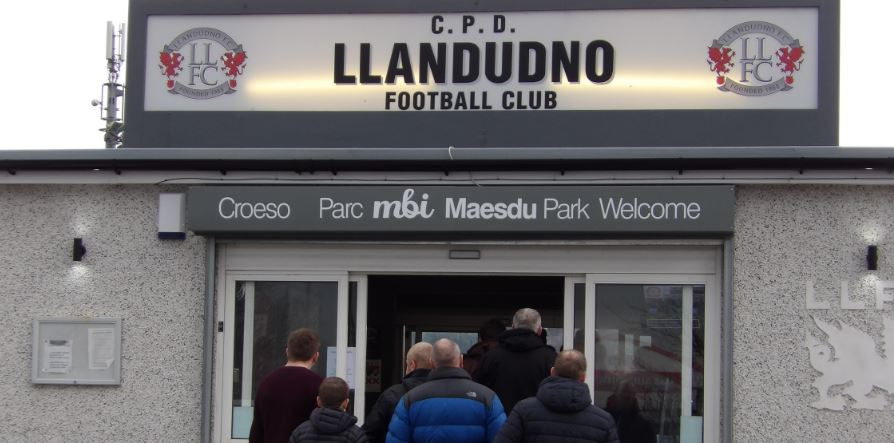 Bangor battered by Ruthin in Llandudno 'Home' game