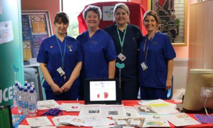 Ysbyty Gwynedd Renal team celebrate World Kidney Day