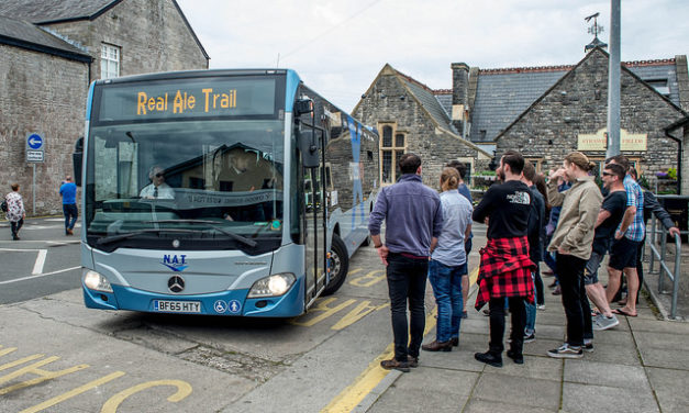 Award-winning Arfon Ale Trail returns with a shuttle bus from Bangor!