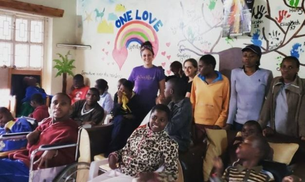 Bangor nursing student helps children with disabilities in Africa