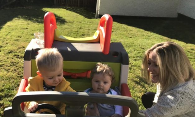 Anglesey mum speaks out about the postnatal mental health problems