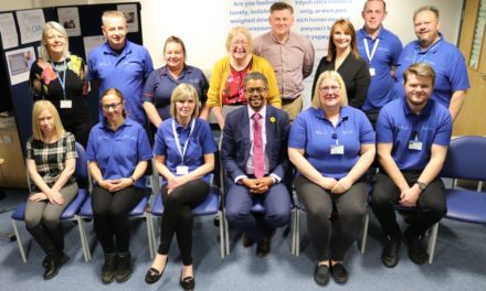 I CAN volunteers support people in crisis at North Wales' Emergency Departments