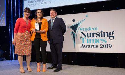Bangor University Nursing Student Wins National Award