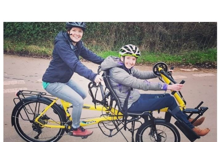Friends to cycle from Bangor to Cardiff to raise disability awareness