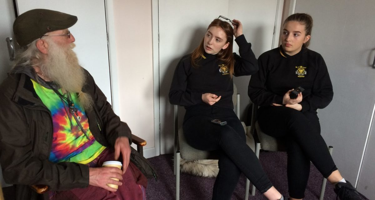 Ysgol Friars and St Mary's Hostel tell real-life stories about homelessness