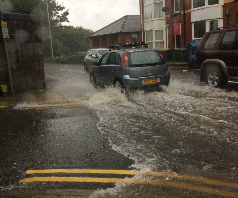 Flash Floods Hit Bangor