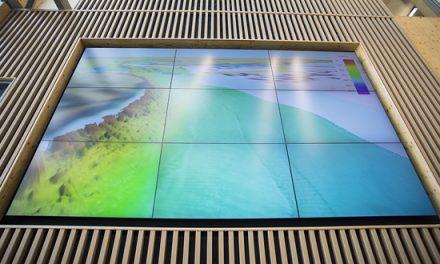 Video Wall Enhances Bangor University Ocean Sciences Marine Centre