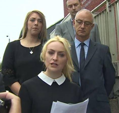 Family Speak of 'heartbreak' after Bangor killing