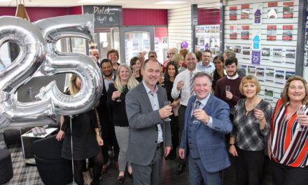 Dafydd Hardy Estate Agents Celebrate 25 years in business