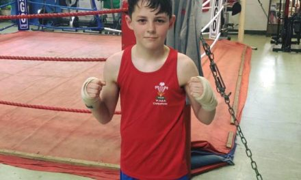 Bangor Boxer Fights For Wales in London
