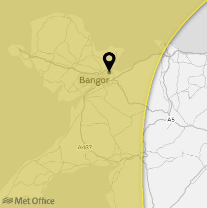 Met Office Warning as 'ex-Ophelia' to hit North Wales