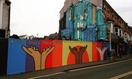 New Artwork brightens up Bangor High Street
