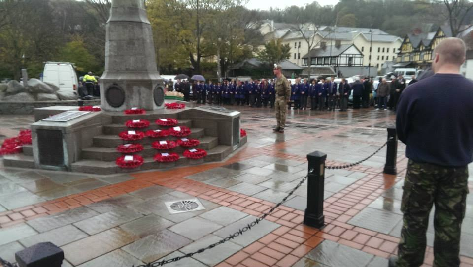 Bangor Remembrance Sunday parade and wreath laying ceremony 2017