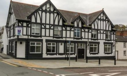 The former Old Glan Pub in Bangor is up for rent