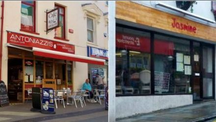 Thieves target businesses on Bangor High Street