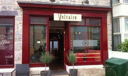 Voltaire in Bangor named as one of the top 10 vegan restaurants in the UK